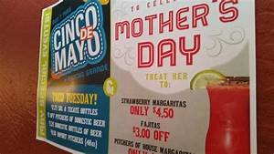 Cinco de Mayo and Mothers Day Specials - Picture of Rancho ...