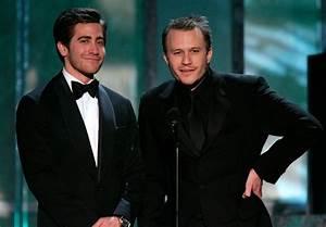 Jake Gyllenhaal and Heath Ledger Photos Photos - Zimbio