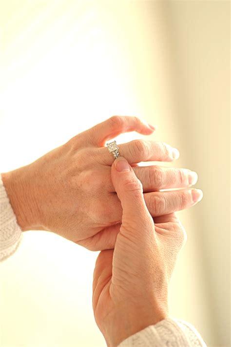 wedding ring etiquette for a widow synonym