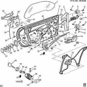 1999 Chevrolet Corvette Door Hardware  Front