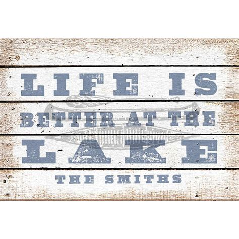 Welcome To The Lake Doormat by Personalized Is Better At The Lake Doormat At