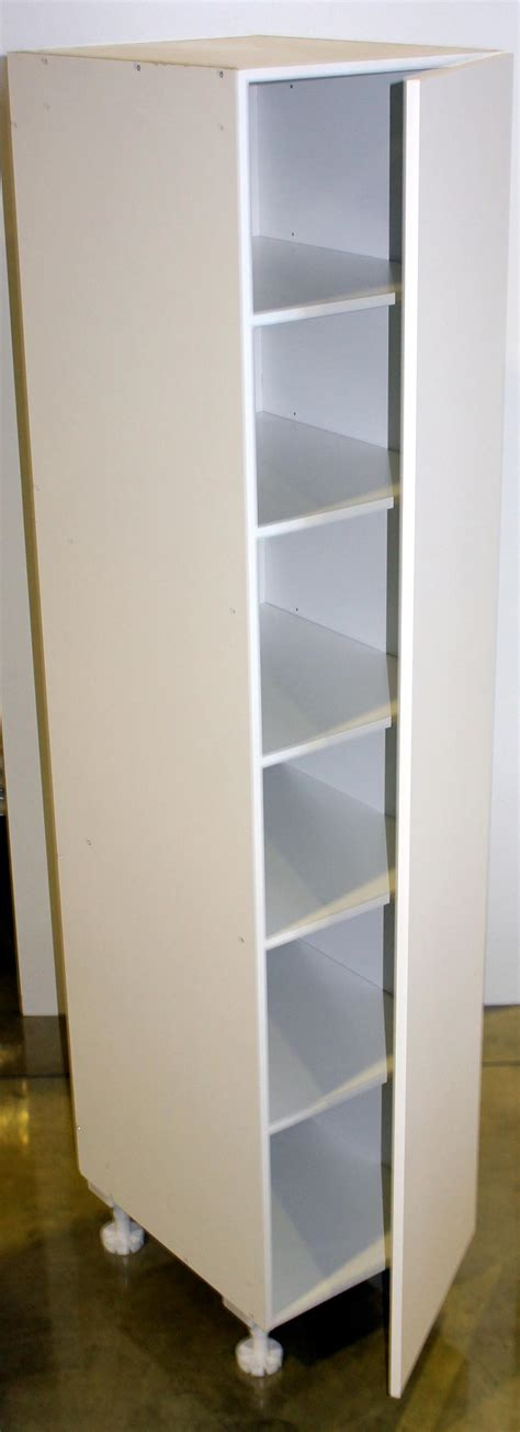Larder Door Oak Tall Storage Rack For Pantry U0026