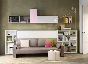 kali sofa twin wall bed sofa space saving twin beds With wall bed and sofa