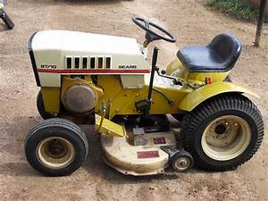 Customs for Sears garden tractor