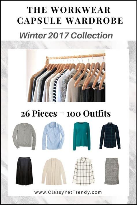 workwear capsule wardrobe  book winter
