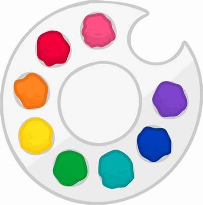 Paint Clipart Pallette Palette Object Transparent Lockdown
