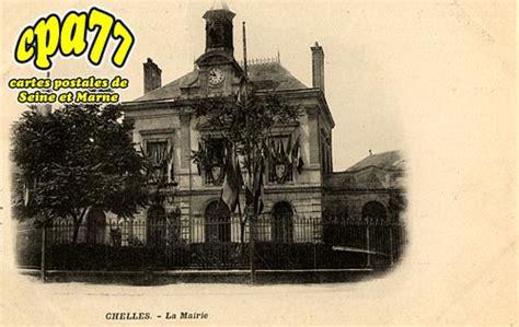 carte postale ancienne de chelles 77 la mairie