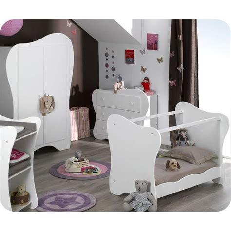 chambre de bebe complete eb chambre bébé complète iris blanche avec ta achat