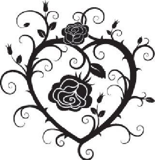pin  arejay  henna inspiration   tribal heart tattoos tribal rose tattoos heart