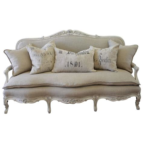 settee styles antique painted country louis xv style sofa settee