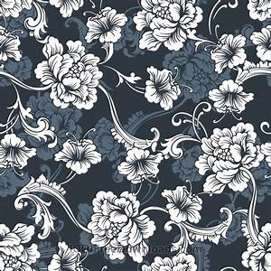 Free Vectors: Seamless vector background Baroque pattern