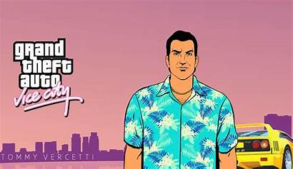 Vice Gta Tommy Vercetti Theft Grand Wallpapers