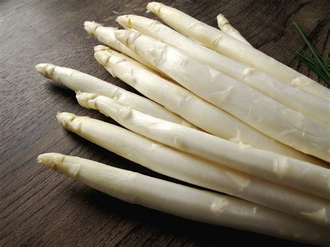 white asparagus white asparagus the edible ivory wildly delectable