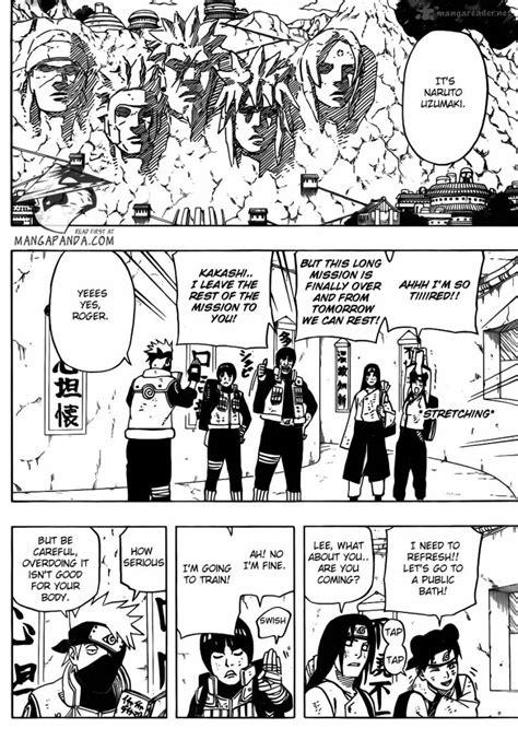 naruto road  ninja  manga page   uzumaki