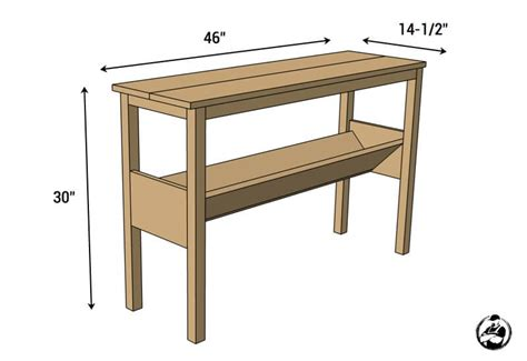 ideal depth and table for round standard sofa table height standard console table height