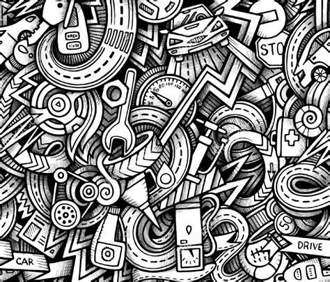 doodle patterns backgrounds  premium templates