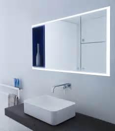 eclairage salle de bain miroir miroir salle de bain lumineux en 55 designs modernes