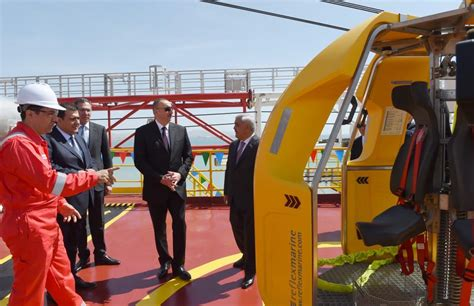 Cytotec Quito Ilham Aliyev Attends Opening Of Drilling Rig Named After Heydar Aliyev