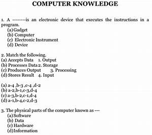 Computer Knowledge Mcq Multiple Choice Questions And Answers Pdf