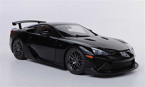 Lexus Lfa Nurburgring Black 2011 Autoart Diecast Model Car