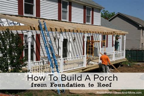 cost to add a front porch building a front porch