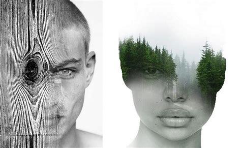 multiple exposure portraits  antonio mora design father