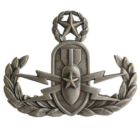 navy insignia marine corps master eod oxidized badge