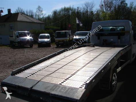 plateau porte voiture occasion utilitaire plateau renault master 2 3 dci 125 porte voiture occasion n 176 1289465