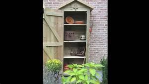 Armoire De Terrasse : veranclassic bois de jardin armoires et terrasses youtube ~ Farleysfitness.com Idées de Décoration