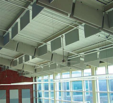 acoustic ceiling baffles anc   noise control