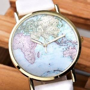 Vintage Uhren Damen : better dealz retro weltkarte uhr lederausstattung leichtmetall damen analoge quarz armbanduhr ~ Watch28wear.com Haus und Dekorationen