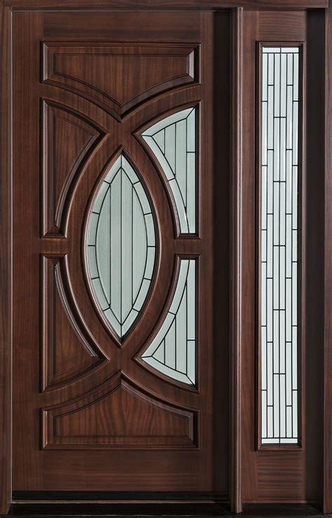 Modern Front Door Custom  Single With 1 Sidelite Solid