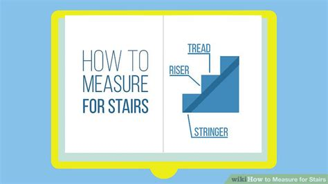 measure  stairs  steps  pictures wikihow