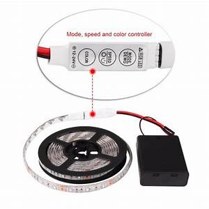 Led Streifen Batterie : 0 5 1 2 meter warmwei kaltwei rgb smd3528 led flexible streifen lichtband mit batterie schalter ~ Eleganceandgraceweddings.com Haus und Dekorationen