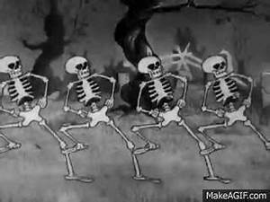 Spooky Scary Skeletons. - GIF on Imgur