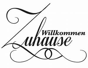 Zu Hause Zuhause : wandtattoo no ev44 willkommen zuhause wandsticker ~ Markanthonyermac.com Haus und Dekorationen
