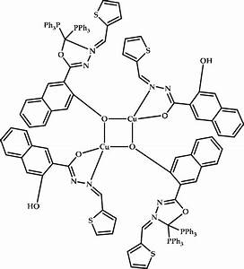 Synthesis Scheme And Chemical Structure Of Coordination