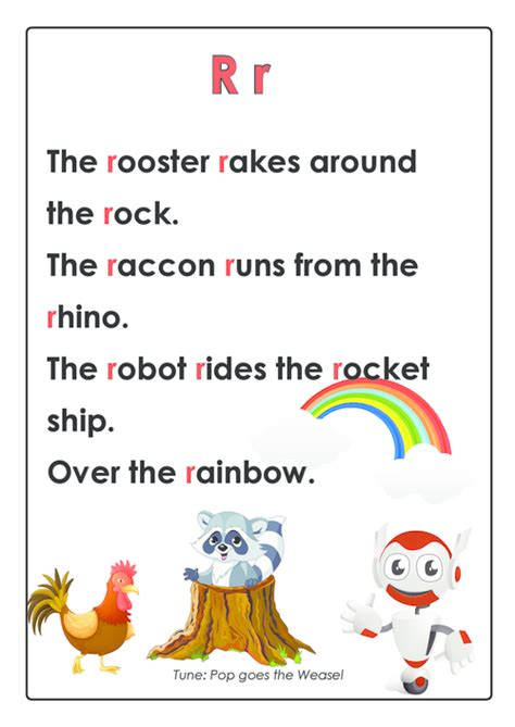 abc rhymes posters bundle learning through songs and 882 | ee8150a96a281e8eb4a3b93fd90129dd