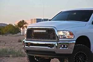 F250 Light Bar Install Rigid Custom Grilles Additional Truck Car Accessories