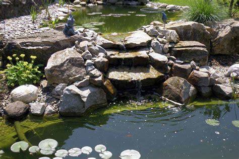 bassin de jardin avec cascade bassin de jardin