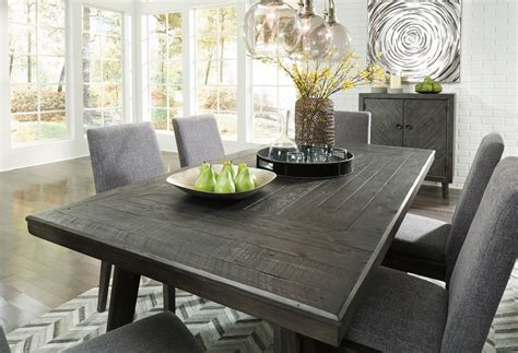 Dining Room Table by Besteneer Gray Rectangular Dining Room Table