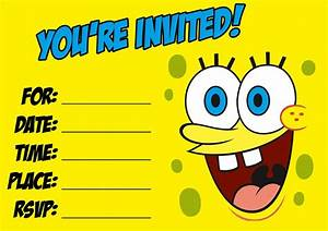 download this spongebob party invitation http birthday With spongebob party invitation templates