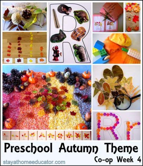 preschool co op week 4 autumn fall theme 449 | Week 4