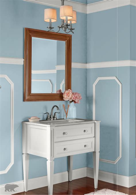update your victorian style bathroom with behr paint in