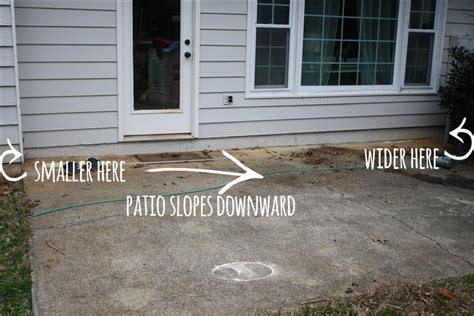 how to level concrete patio patio design