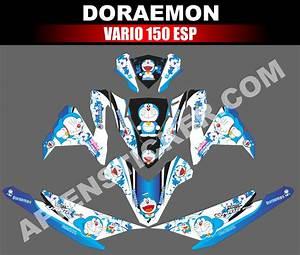 Striping Motor Vario 150 Esp Doraemon