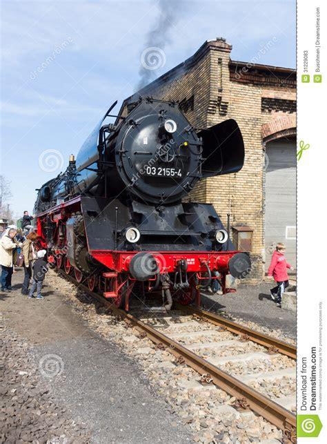 steam locomotive borsig 03 2155 4 drg class 03 editorial image of festival