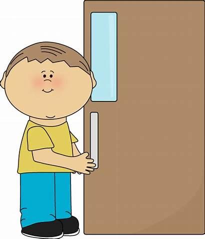 Door Holder Boy Classroom Clip Open Job
