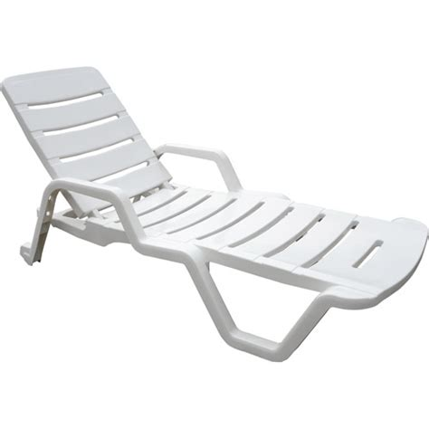 adams chaise lounge chair white new garden items for