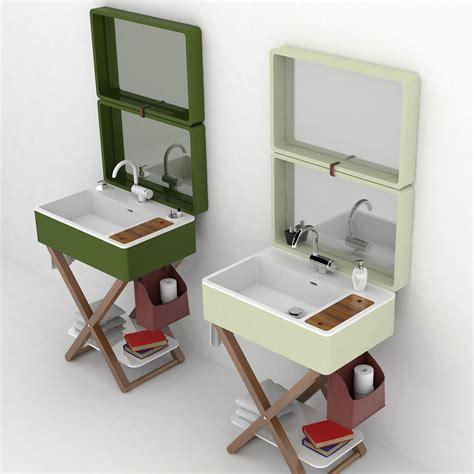 Portable Bathroom Sink by My Bag Portable Bathroom By Olympia Ceramica